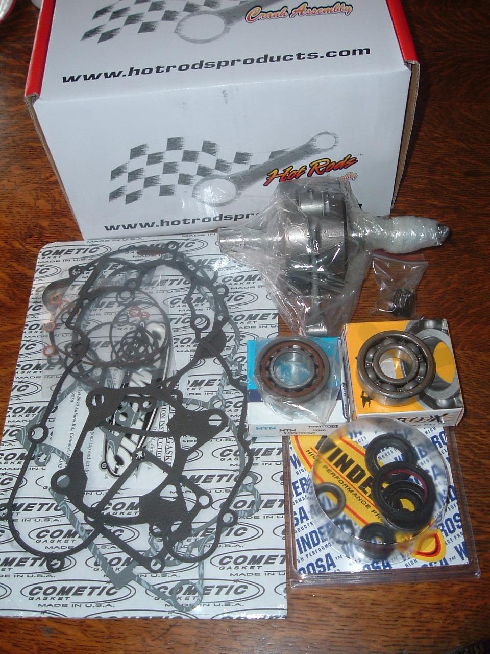 lukes racing: ktm85 engine rebuild kit (bottom end)